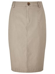 Dash Stone Chino Skirt Neutral