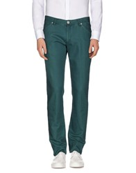 Alviero Martini 1A Classe Trousers Casual Trousers Men Deep Jade