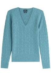 Polo Ralph Lauren Cashmere Pullover Turquoise