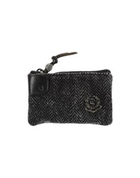 Htc Small Leather Goods Coin Purses Women Steel Grey
