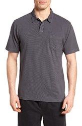 Quiksilver Men's Waterman Collection Strolo 6 Pocket Polo