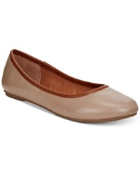 American Rag Cellia Ballet Flats Created For Macy's Women's Shoes Nude