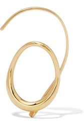 Charlotte Chesnais Caracol Gold Dipped Ear Cuff One Size