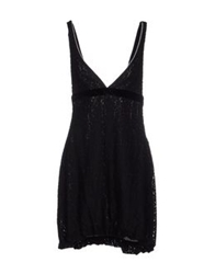 Entre Amis Short Dresses Black