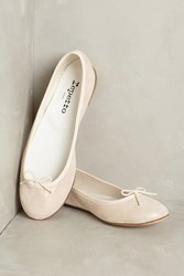 Anthropologie Repetto Cendrillon Metallic Ballet Flat Pink