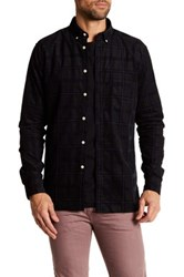 Barney Cools Long Sleeve Cabin Shirt Blue