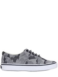 Sperry Top Sider Striper Cvo Washed Camo Twill Sneakers
