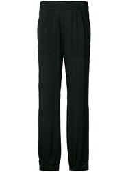 Dorothee Schumacher High Waisted Trousers Black