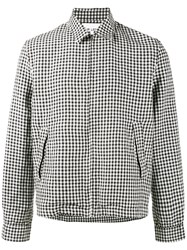 Our Legacy Gingham Jacket Black