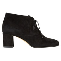 Hobbs Jude Laced Ankle Boots Black Suede
