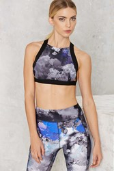 Nasty Gal Watch My Smoke Sports Bra