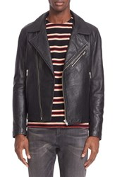 Levi's Men's Made And Crafted 'Off Road' Leather Moto Jacket