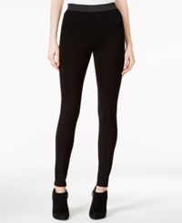 Kensie Ponte Leggings Black
