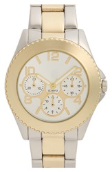Bp Two Tone Bracelet Watch Gold Silver