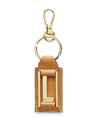 Lancel Key Rings Camel