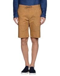 Hilton Trousers Bermuda Shorts Men Ochre