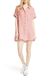 Free People Women's Little Sway Stripe Shirtdress