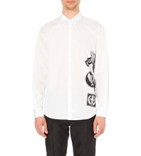 Dsquared Relax Dan Fit Cotton Shirt White