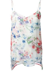 Theory Floral Print Cami