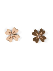 Af House Four Leaf Clover Earrings Metallic