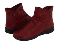 Arcopedico N42 Cherry Leather Women's Boots Red