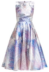 Ted Baker Larin Cocktail Dress Party Dress Lilac Light Blue