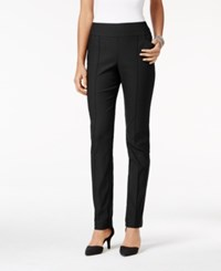 Styleandco. Style Co. Pull On Seamfront Skinny Pants Only At Macy's Deep Black