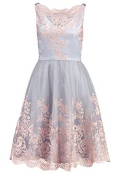 Chi Chi London Rylee Cocktail Dress Party Dress Blue