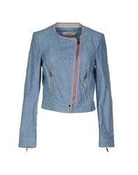 Massimo Rebecchi Coats And Jackets Jackets Women Azure