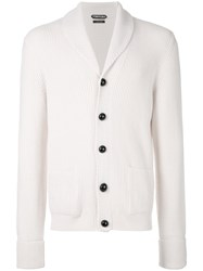 Tom Ford V Neck Cardigan Nude And Neutrals
