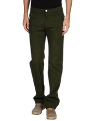 Versace Jeans Couture Casual Pants Military Green