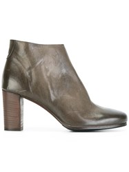 Laboratorigarbo Side Zip Ankle Boots Grey