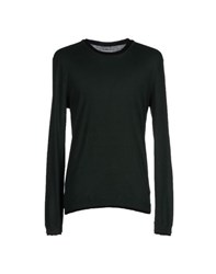 Eleven Paris Knitwear Jumpers Men Dark Green