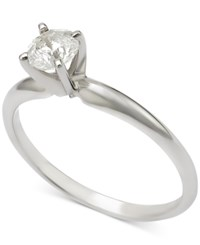 Macy's Diamond Solitaire Engagement Ring 1 2 Ct. T.W. In 14K Gold Or 14K White Gold