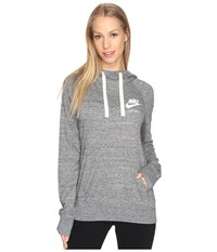 Nike Gym Vintage Hoodie Carbon Heather Sail Women's Sweatshirt Gray