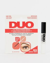 Ardell Duo 2 In 1 Brush On Striplash Striplash Adhesive Clear