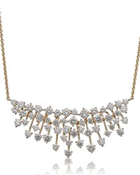 Hueb Luminus 18K Gold Diamond Bib Necklace