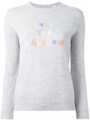 Chinti And Parker 'Over The Rainbow' Jumper Grey