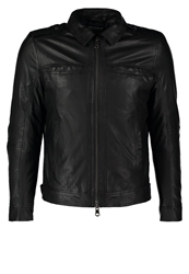 J. Lindeberg J.Lindeberg Leather Jacket Black