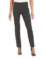 Max Mara Ocarina Straight Leg Dress Pants Dark Grey