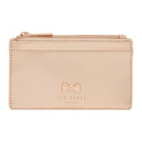 Ted Baker Satinii Leather Coin Purse Rose Gold