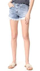 Ag Jeans The Sadie High Rise Shorts Ingenue