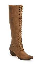 Women's Very Volatile 'Clementine' Lace Up Boot 2' Heel