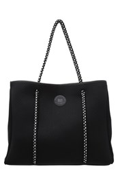 Roxy Salty Candy Tote Bag Anthracite Black