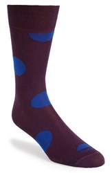 Men's Etiquette Clothiers 'Big Dots' Socks