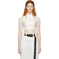 Nikelab White Ambush Edition Nrg Crop Tank Top
