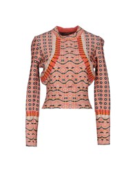 Alaia Sweaters Coral
