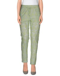 Ottod'ame Trousers Casual Trousers Women Light Green