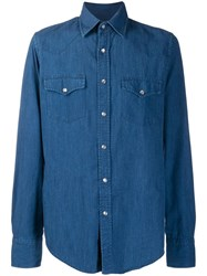 Tom Ford Denim Shirt Blue