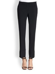 Aquilano Rimondi Cuffed Pants Black